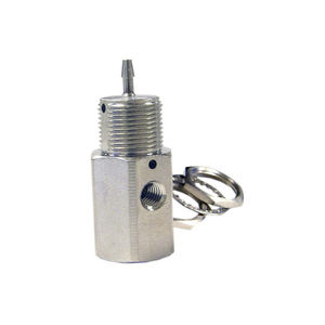 vanne à soupape / à commande pneumatique / pour manutention de précision / compacte