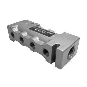 manifold multivoie / en fonte d'aluminium