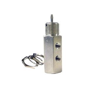 vanne à clapet / à commande pneumatique / pour manutention de précision / compacte