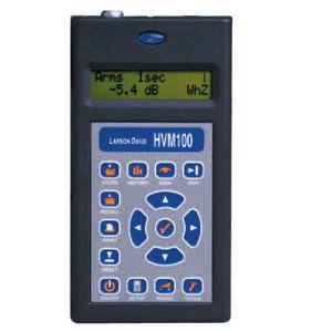 analyseur de vibrations appliqués à l'homme / portable / numérique / industriel