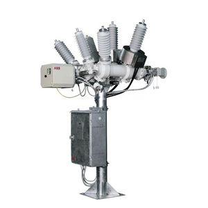 appareillage de commutation primaire / haute tension / isolé au gaz SF6 / hybride