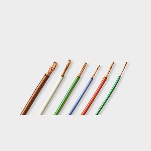 fil électrique isolé