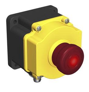 bouton poussoir d'arrêt d'urgence