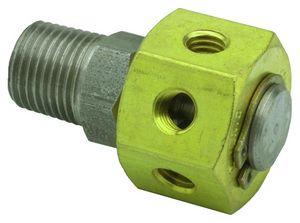 manifold 6 voies / en métal / pneumatique