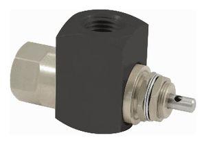 distributeur hydraulique à clapet / avec actionnement manuel / 2 voies