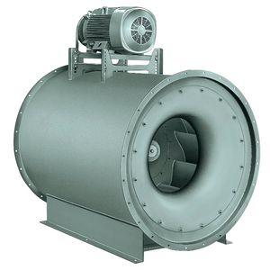 ventilateur centrifuge / d'évacuation / en ligne / chauffant