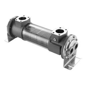 échangeur de chaleur tubulaire / eau/huile