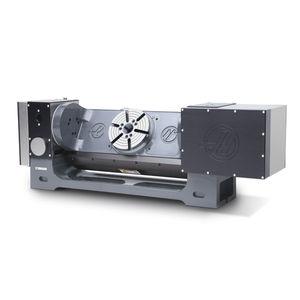 table rotative entraînée par moteur / inclinable / pour fraisage / CNC