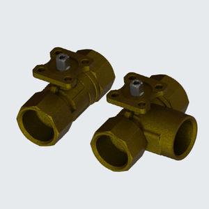 OEM Systems Company R/éducteur de pression en laiton avec manom/ètre Femelle