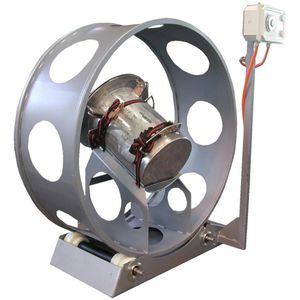 mélangeur à tambour rotatif