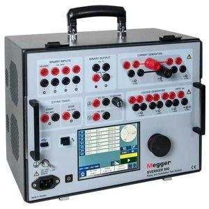 système de test pour réseau électrique