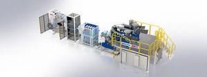 ligne d'extrusion de film à plat / pour thermoplastiques / pour LDPE / multicouche