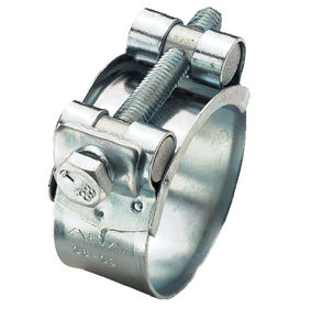 collier de serrage en acier inoxydable / à vis / grande puissance