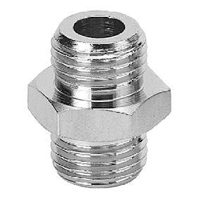 adaptateur hydraulique / de réduction / de filetage / en laiton