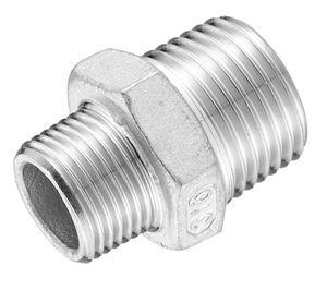 adaptateur hydraulique / de réduction / fileté / en acier inoxydable