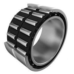 roulement à rouleaux cylindriques / radial / à deux rangées / en acier