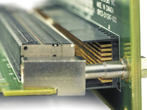 connecteur de données / DIN / de fond de panier / parallèle