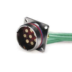 connecteur quadrax / de données / audio/vidéo / twinaxial