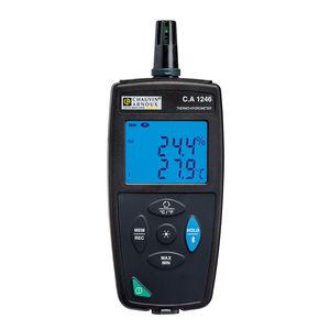 thermo-hygromètre à affichage numérique / avec afficheur LED / à lecture directe / portable