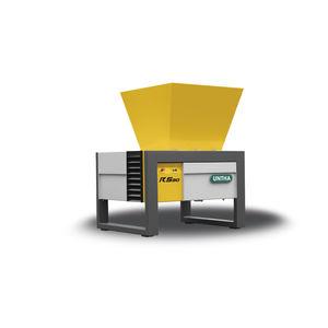 déchiqueteur pour carton / pour déchets électroniques / papier / à 4 arbres
