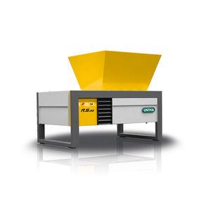 déchiqueteur pour carton / métal / pour déchets médicaux / papier