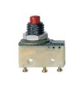 micro-rupteur tactile / multipolaire / électromécanique / à action instantanée