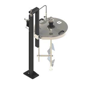 agitateur à turbine / à palettes / de peinture / compact