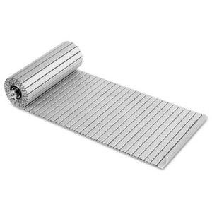 tapis articulé en aluminium