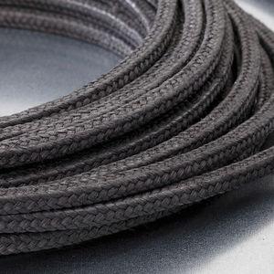 garniture tressée en PTFE / en graphite / en carbone / renforcée de fibres de carbone