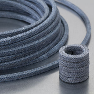 garniture tressée en PTFE / en carbone / en fil d'aramide / résistante aux produits chimiques