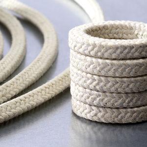 garniture tressée en PTFE / en fil d'aramide / résistante aux produits chimiques / pour pompe