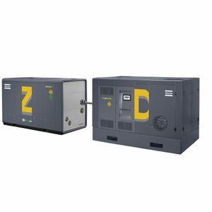 compresseur d'air / d'azote / stationnaire / à moteur électrique
