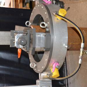 machine de découpe pour acier inoxydable / pour acier / pour l'aluminium / à lame rotative