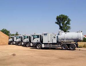 Camion aspirateur Tous les fabricants industriels Vidéos