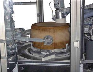 tunnel de lavage alimentaire de fromage