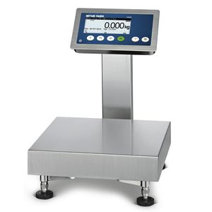 balance benchtop / à plate-forme / d'analyse / avec afficheur LCD