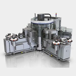 étiqueteuse automatique / par colle thermofusible / pour bouteilles / pour l'industrie de la boisson