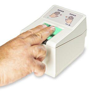 lecteur d'empreintes digitales avec capteur optique