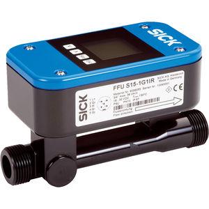 débitmètre à ultrasons / pour liquides / compact / avec affichage