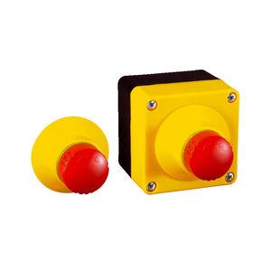 boutons poussoirs coup de poing / d'arrêt d'urgence