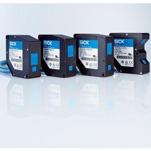 capteur de déplacement linéaire / sans contact / laser / avec interface Ethernet