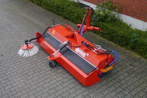 balayeuse pour tracteur / pour chariot élévateur / pour chargeuse / hydraulique