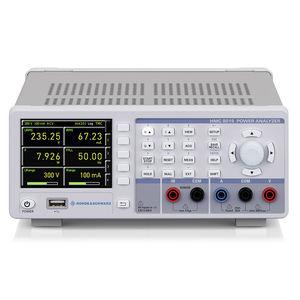 analyseur pour réseau électrique / de puissance / benchtop / compact