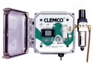 détecteur de monoxyde de carbone / de gaz / avec alarme sonore / mural
