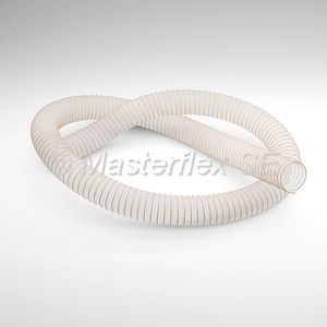 tuyau flexible de transport / d'aspiration / en polyester / en PU