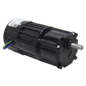 motoréducteur AC / monophasé / à engrenage hélicoïdal / à arbres parallèles