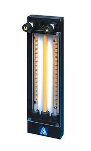 débitmètre à flotteur / pour gaz / à lecture directe / à tubes multiples