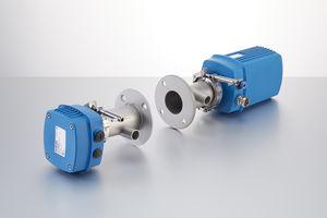 appareil de surveillance de concentration de poussières et d'opacité / de mesure / de process / pour gaz