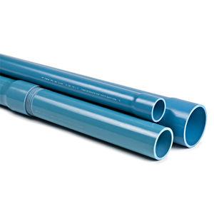 tuyau rigide pour solvant / pour chantier de construction / en PVC / standard