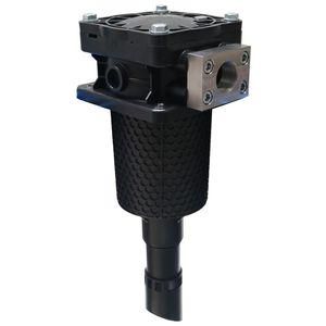 carter de filtre à cartouche / pour liquide / en matière plastique / résistant à la corrosion